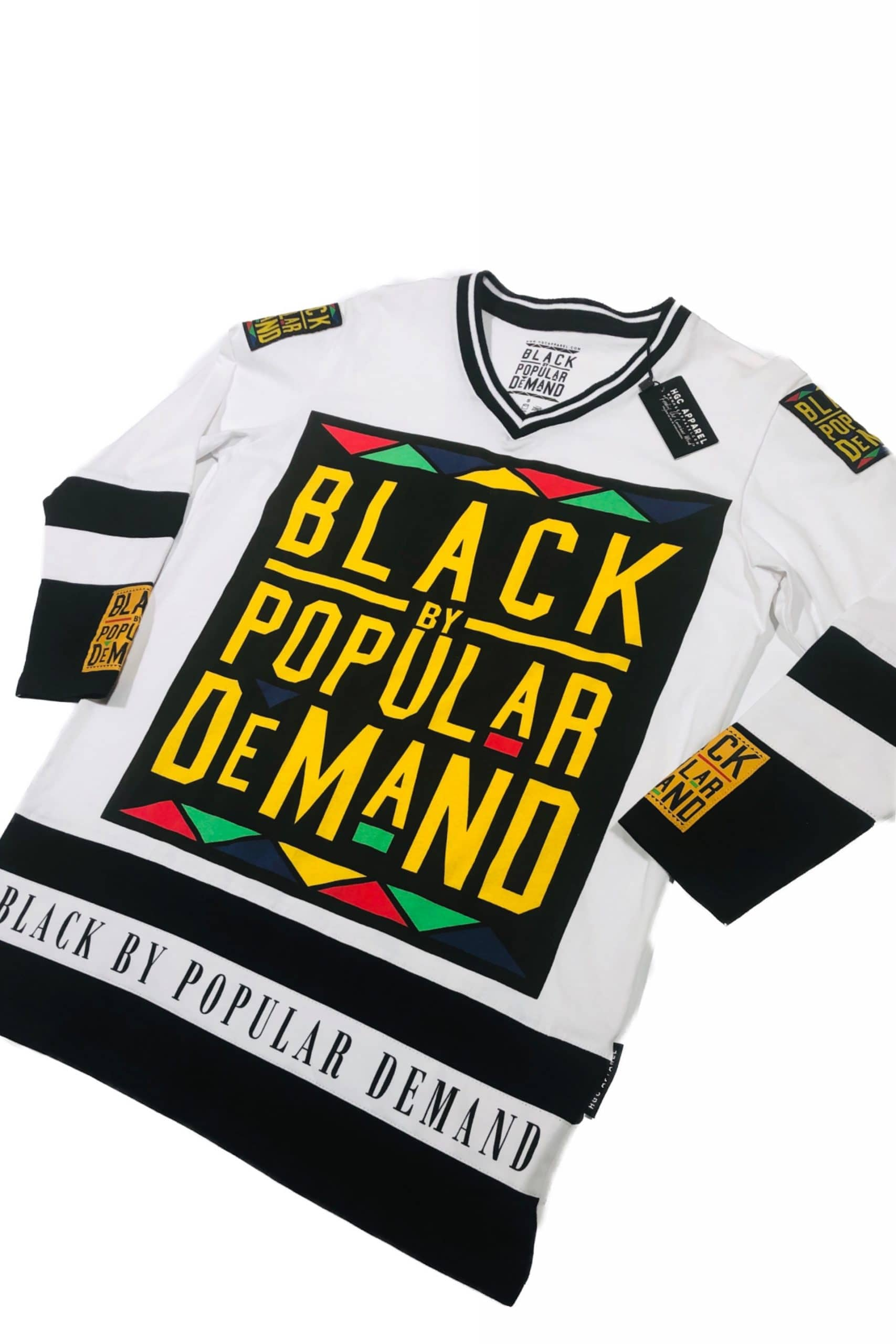 Black by Popular Demand® Unisex Long Sleeve Hockey Jersey HGC Apparel