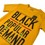 Black by Popular Demand® Yellow Unisex Patched Shirt