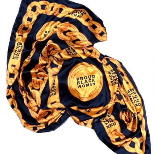 Proud Black Women® Satin Headwrap Scarf HGC Apparel