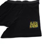 BLACK BY POPULAR DEMAND® Unisex Black Boxer Briefs 2-Pack