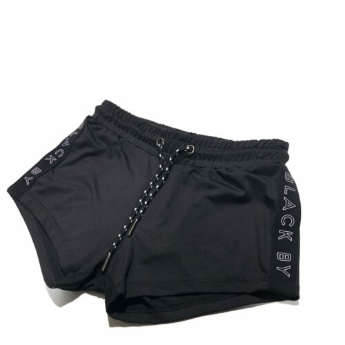 Black by Popular Demand® Black Booty Shorts HGC Apparel