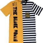 Respect Protect Love The Black Woman® Unisex Split Striped Shirt