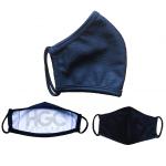 Black by Popular Demand® Black Solid Face Mask