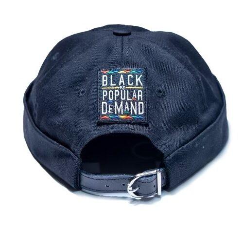 Black by Popular Demand® Black Brimless Docker Hat HGC Apparel