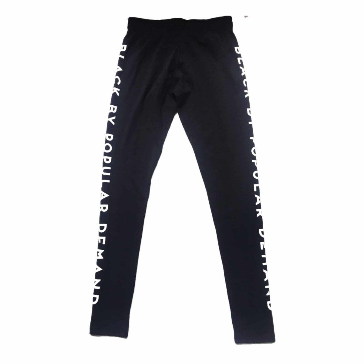 BLACK BY POPULAR DEMAND® Spandex Leggings Pants HGC Apparel