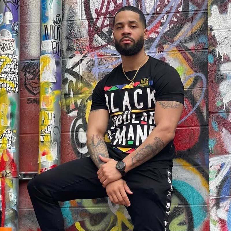 Black by Popular Demand® Unisex Black Joggers Sweatpants HGC Apparel
