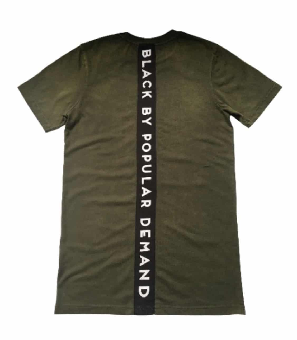 America Is Mad At Black People® Olive Mineral Wash Unisex Shirt HGC Apparel