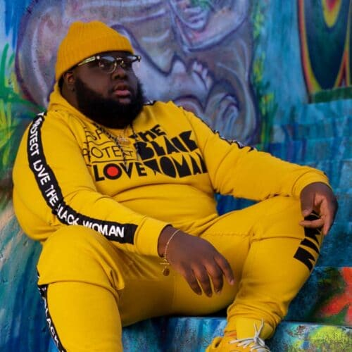 Respect Protect Love The Black Woman® Yellow Unisex Hoodie Sweatshirt HGC Apparel