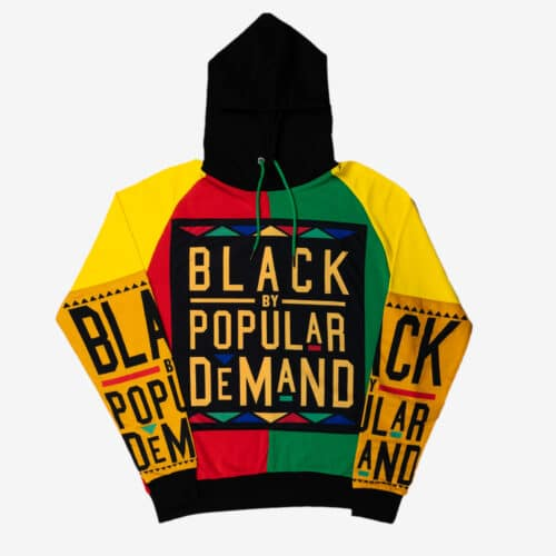 Black by Popular Demand® Multi-Color Unisex Homage Hoodie Sweatshirt HGC Apparel
