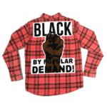 Black by Popular Demand® Ash Red Flannel Unisex Shirt