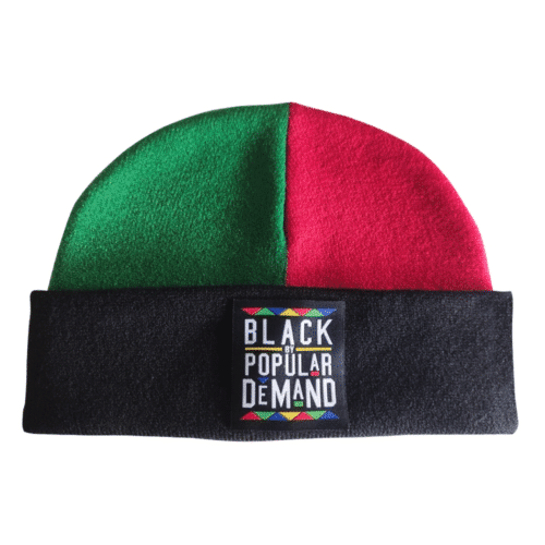 Black By Popular Demand® Homage Unisex Beanie HGC Apparel