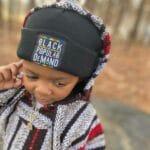Black By Popular Demand® Black Children's Unisex Beanie