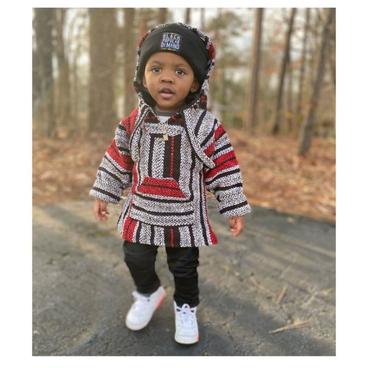 Black By Popular Demand® Black Children's Unisex Beanie HGC Apparel
