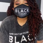 Hope I Don't Get Killed For Being Black Today® Unisex Face Mask