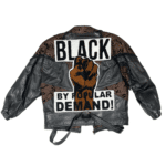Black by Popular Demand® Women's Vintage Genuine Leather Biker Jacket