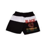 Black By Popular Demand® Unisex Black Board Shorts