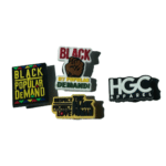 Black by Popular Demand® 4-Pack Shoe Charms