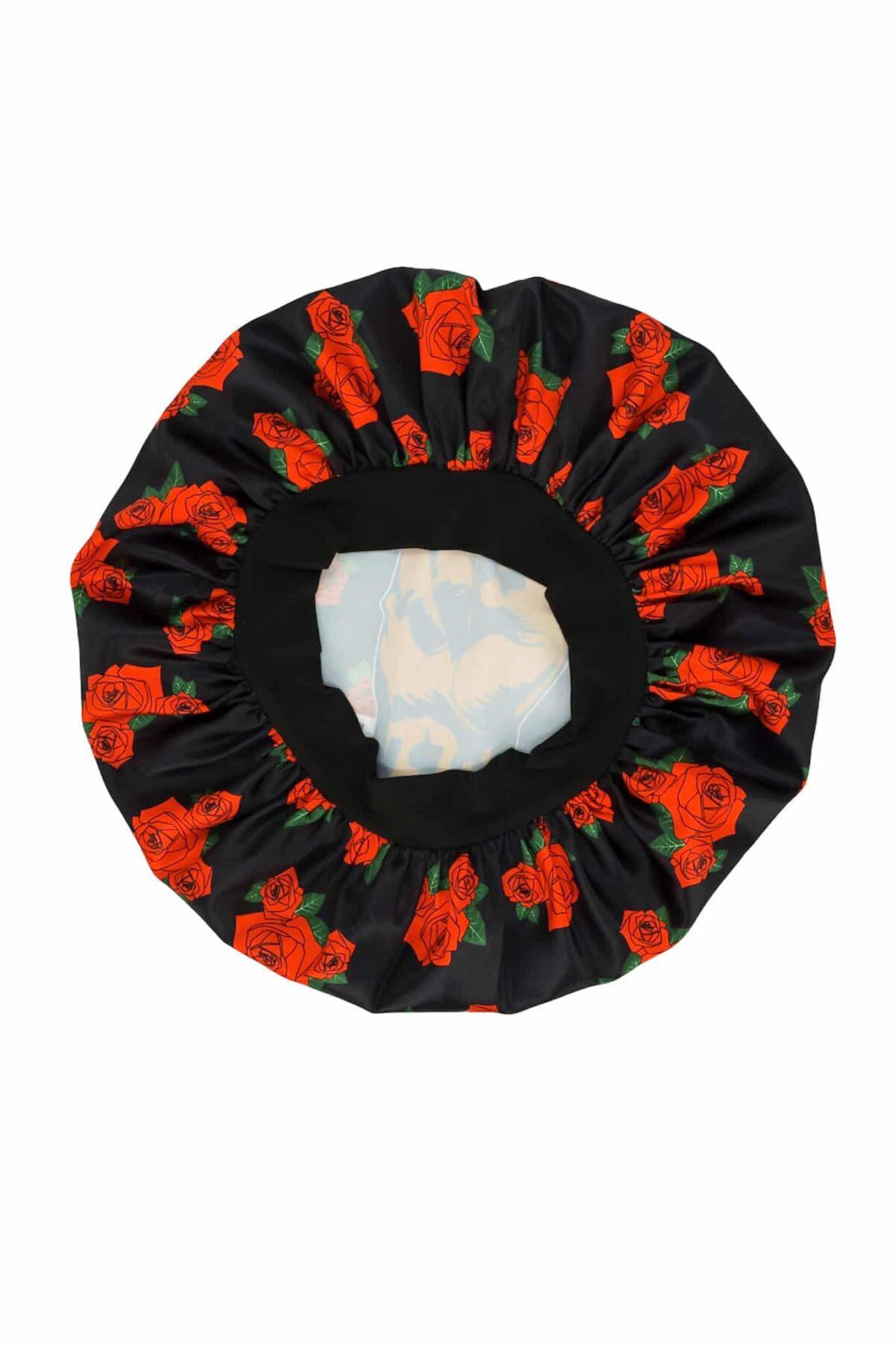Black by Popular Demand® Rose Satin Bonnet HGC Apparel