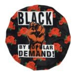 Black by Popular Demand® Rose Satin Bonnet