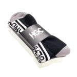 Black by Popular Demand® Black & White Split Socks