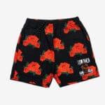 Black By Popular Demand® Unisex Rose Board Shorts