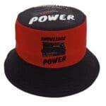 Knowledge is Power® Black Bucket Hat