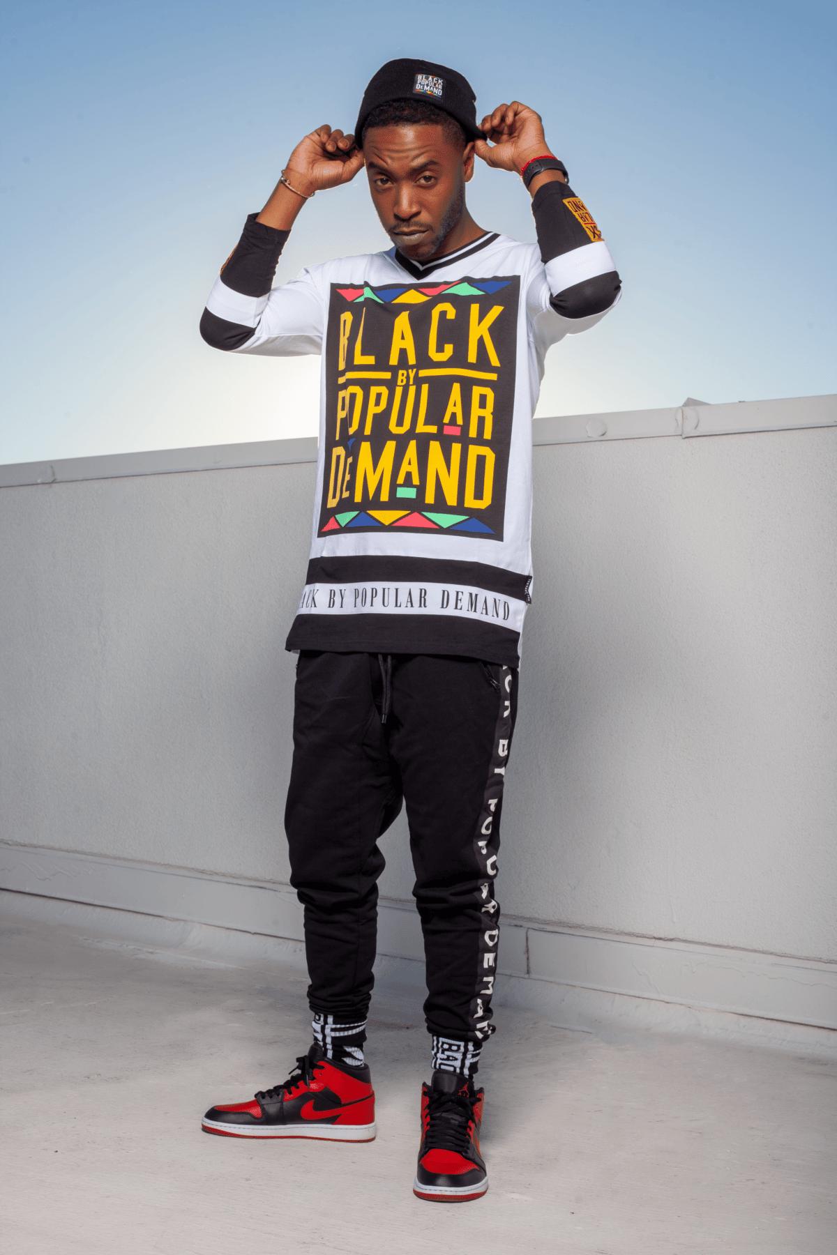 Black by Popular Demand® Unisex Long Sleeve Hockey Jersey HGC Apparel
