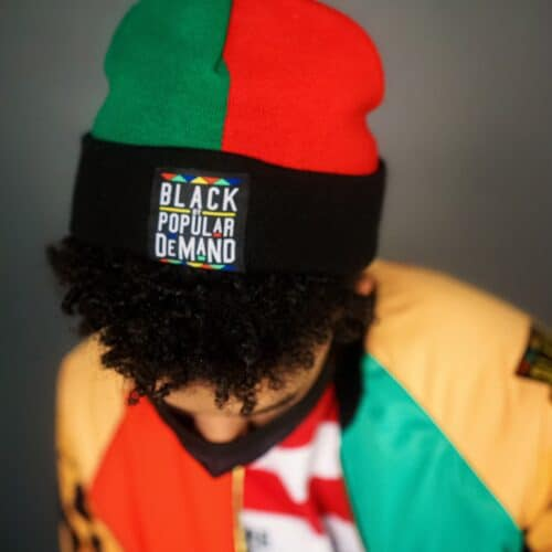 Black By Popular Demand® Homage Unisex Beanie HGC Apparel