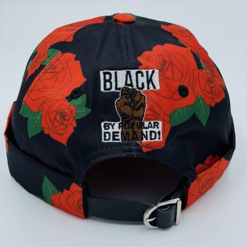 Black by Popular Demand® Unisex Rose Brimless Docker Hat HGC Apparel